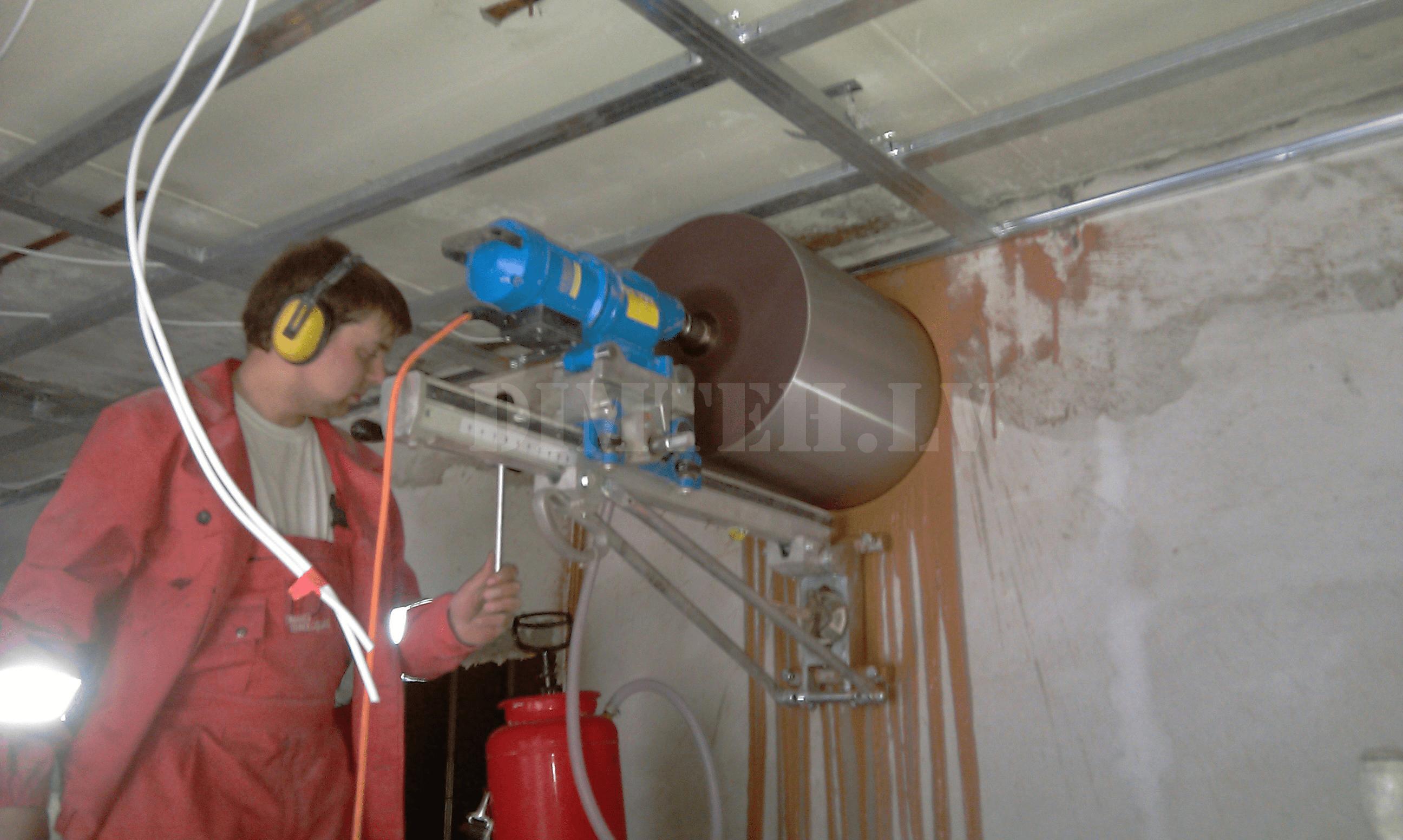 Dimanta urbšana ventilacijai