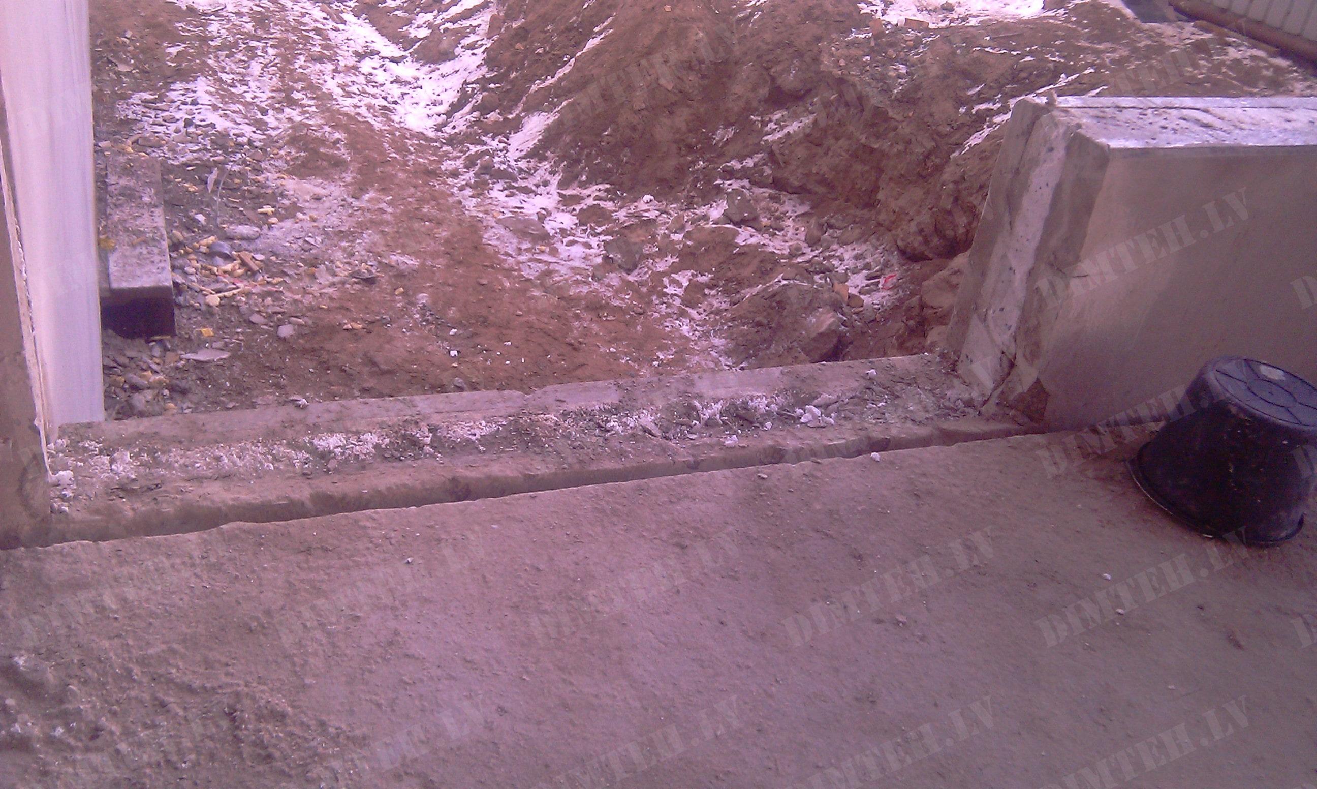 Dimanta zāģēšana betona siena